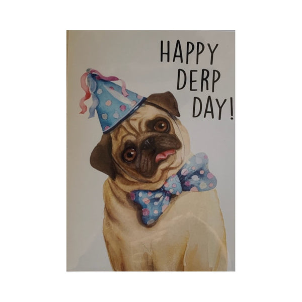 Card- Pug Birthday