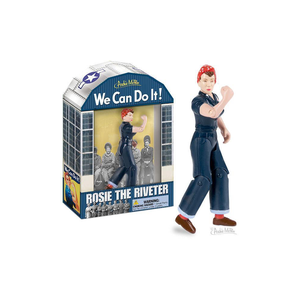 Rosie The Riviter-Action Figure