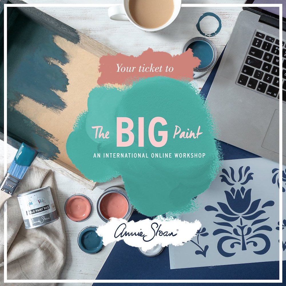 The Big Paint Tickets - Annie Sloan Chalk Paint