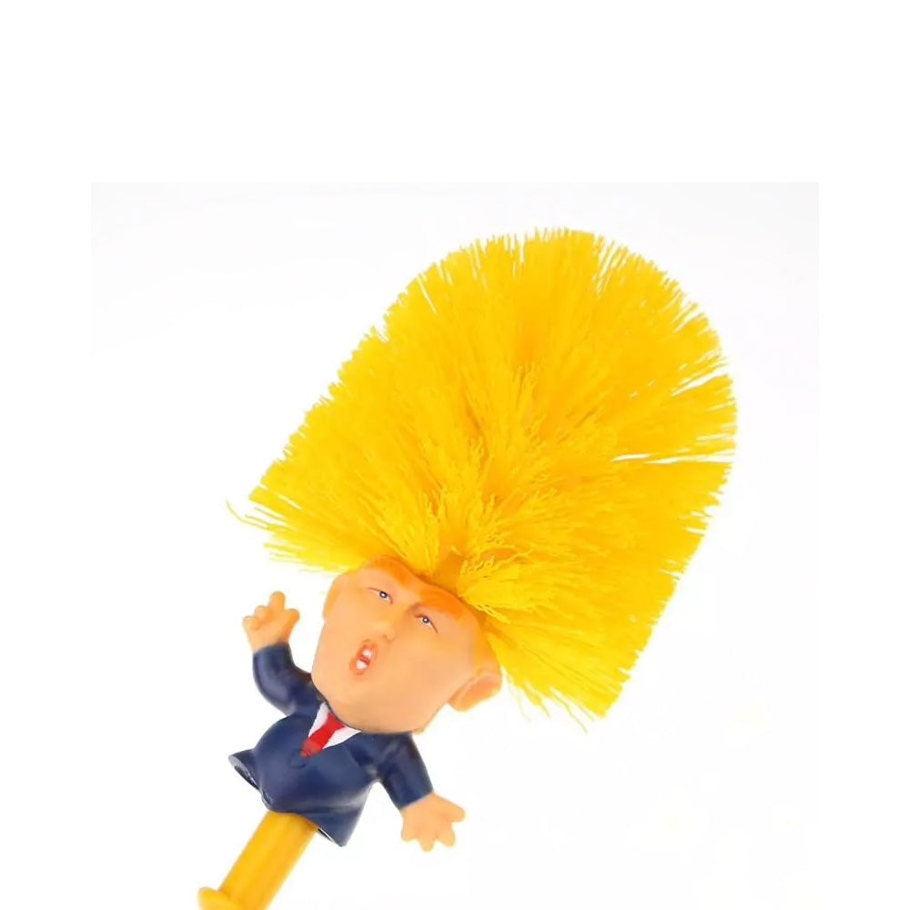 Donald Trump Toilet Brush Post Industrial Design If i owned that, i would enjoy scrubbing the toilet much more! donald trump toilet brush