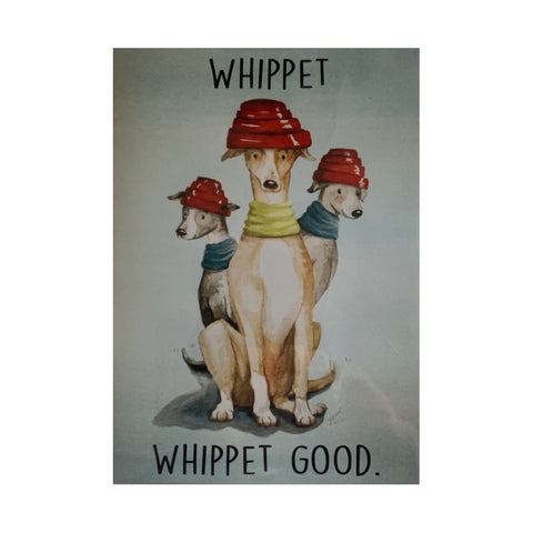 Card- Whippet Good