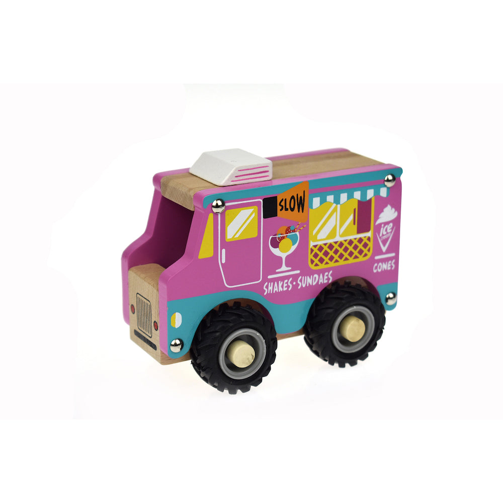 Wooden Ice Cream Van