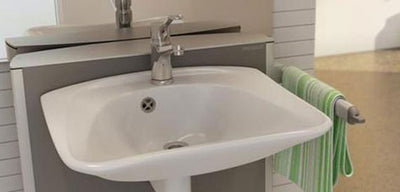 Choosing a wash basin for an adapted bathroom