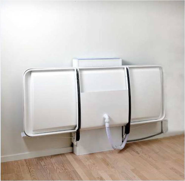 Hudson wall mounted changing & shower table