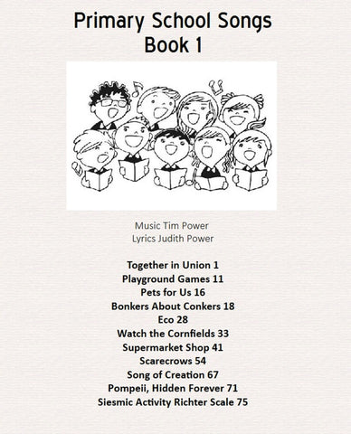 Primary School Songs Book 1
