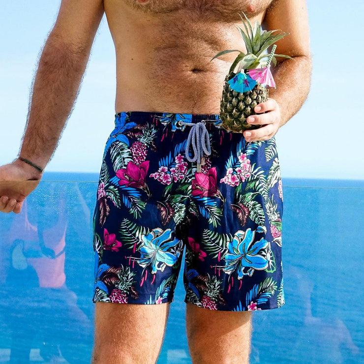 2c7e94f537 Floral Mens Swim Trunks | The Flower Hour | Kenny Flowers