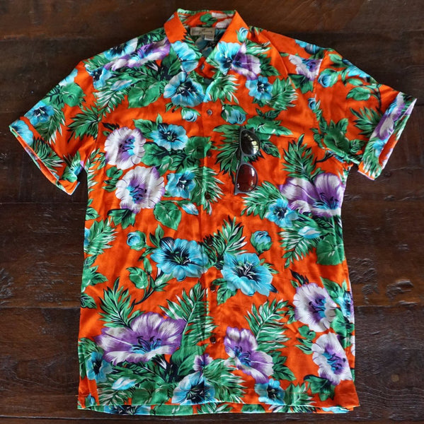 Kenny Flowers Shirt Foreign Orange Front Product