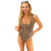 The Sahara - Reversible Leopard One Piece