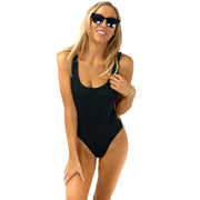 The Zanzibar - Reversible Black One Piece