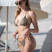 The Sahara - Leopard String Bikini Bottom