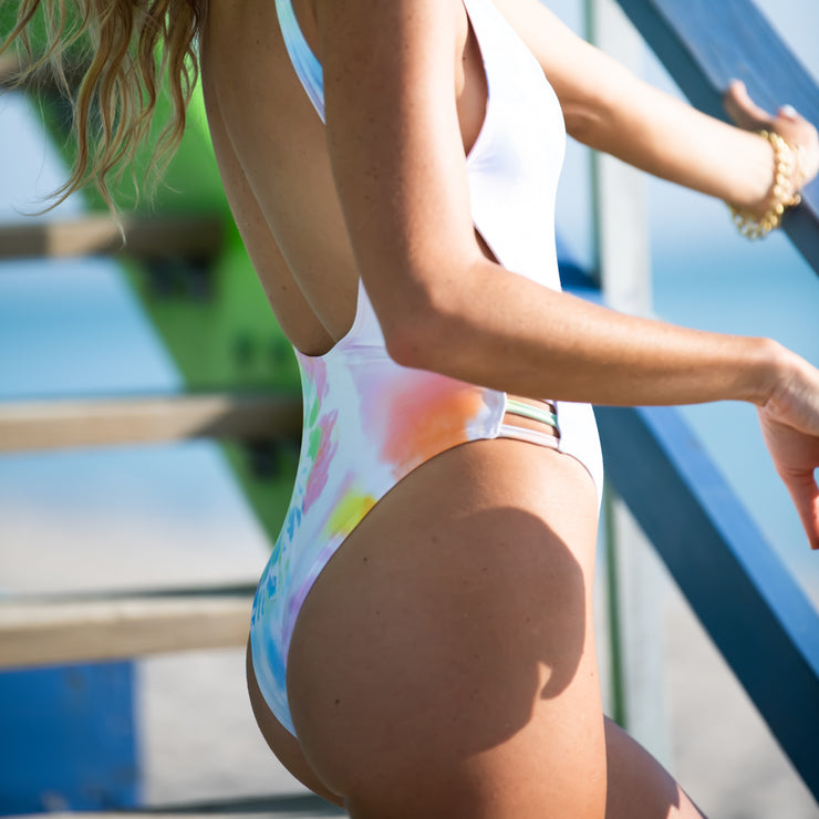 The Malibu - Tie Dye One Piece