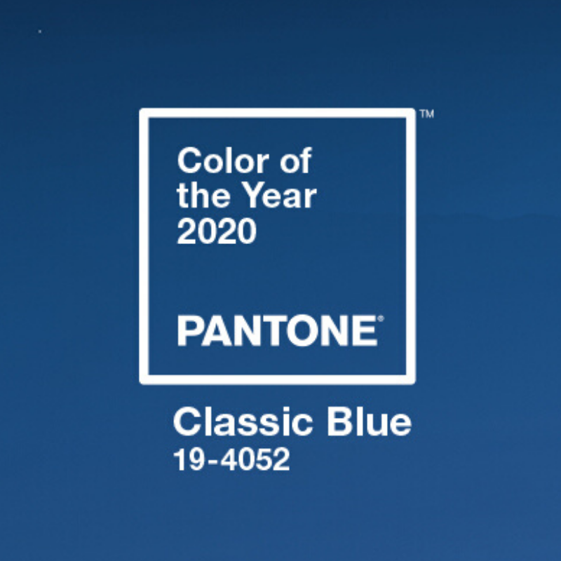 Classic Blue Named Pantone Colour of the Year