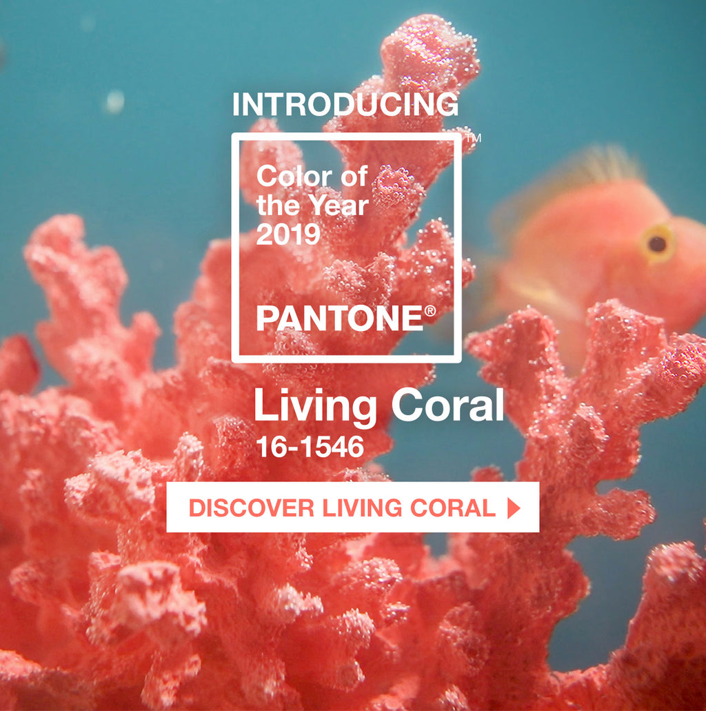 Living Coral - Pantone Colour of the Year for 2019