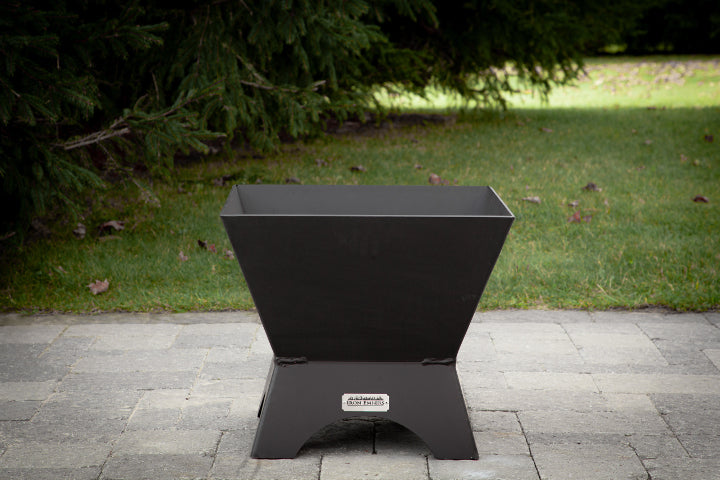 Modern Cube Outdoor Fire Place
