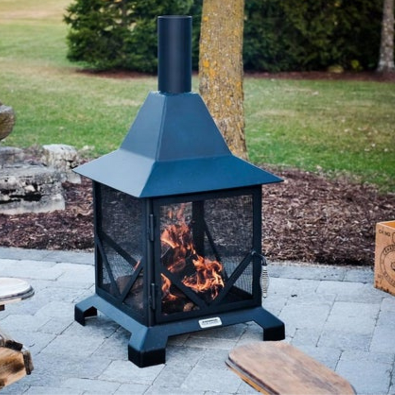 Chiminea Outdoor Fire Place