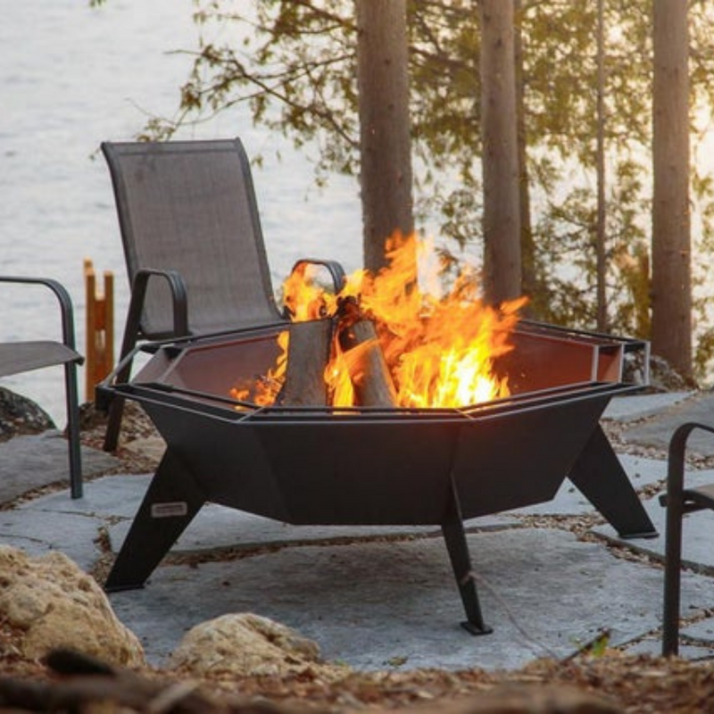 Cottager Octagonal Outdoor Fire Pit