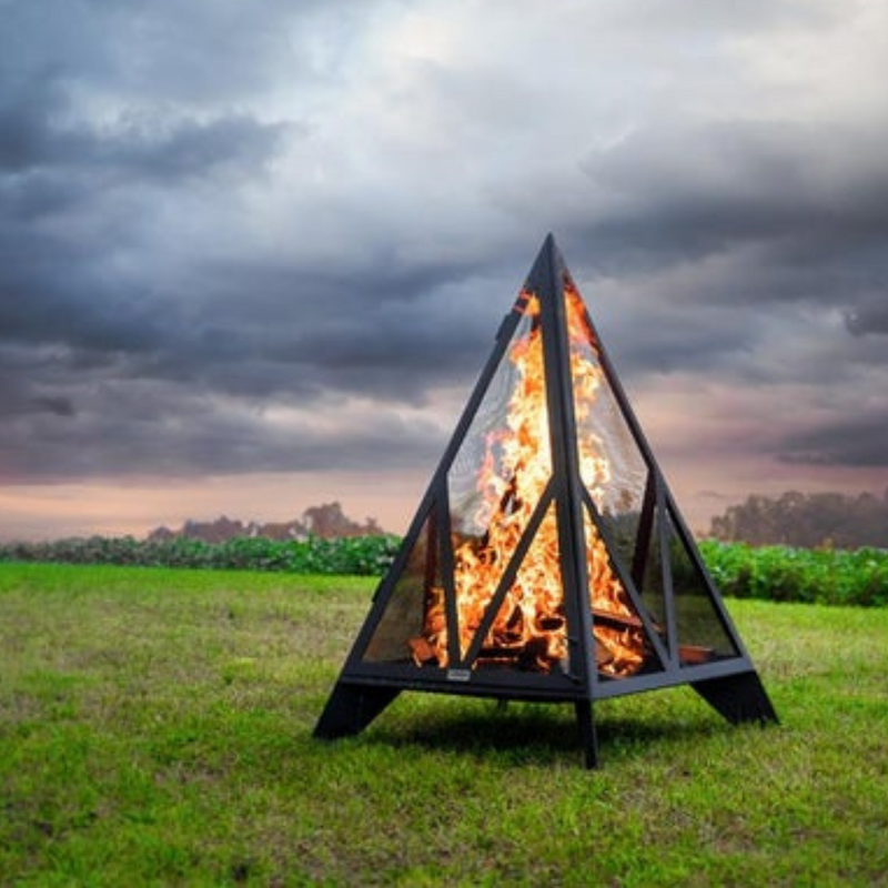 Pyramid Outdoor Fire Place