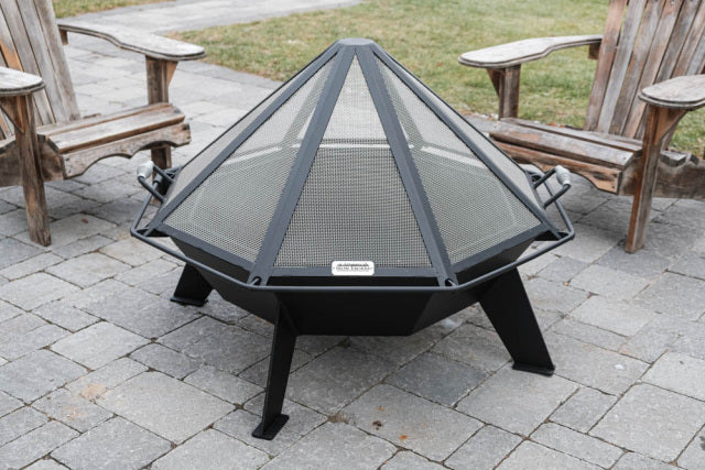 Spark Screens for Cottager Octagonal Outdoor Fire Pit