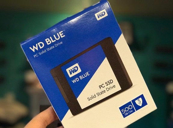WD BLUE PC SSD 500GB