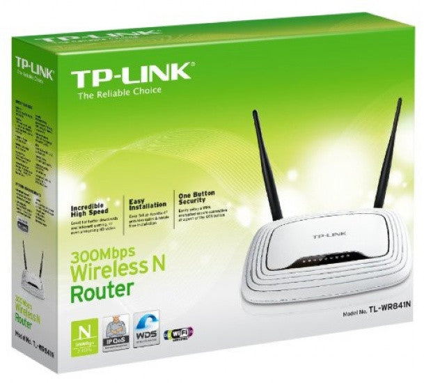 TP-Link WL 300Mbps Wireless N Router