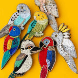Delicates Aussie Natives Brooch (7 Options Avail)