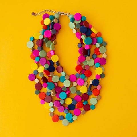 RO2090NK-MULTI-SHORT-STRAND-NECKLACE-YELLOW-BACKGROUND.jpg