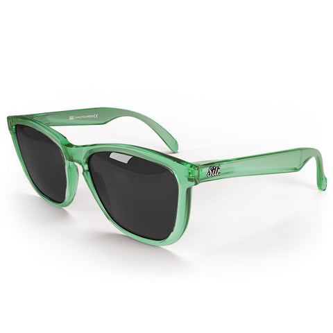 Pre-Picked - Frosted Green With Smoke Polarised Lenses