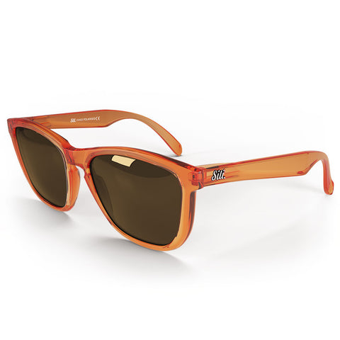 Pre-Picked - Frosted Orange With Brown Polarised Lenses