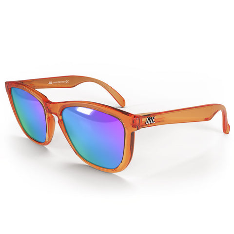 Pre-Picked - Frosted Orange With Green/Pink Polarised Lenses