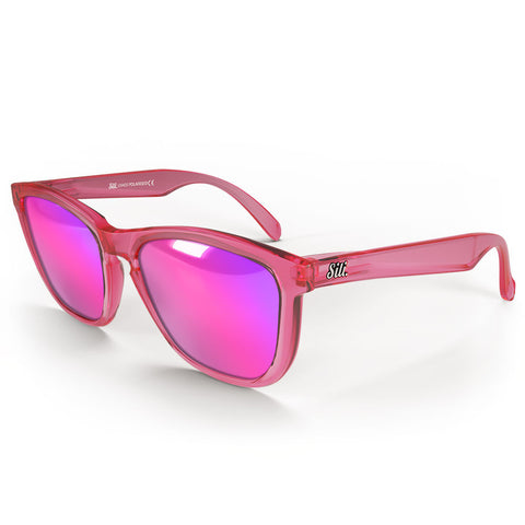 Pre-Picked - Frosted Pink With Pink Polarised Lenses
