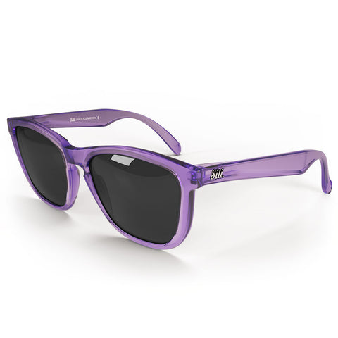 Pre-Picked - Frosted Purple With Smoke Polarised Lenses