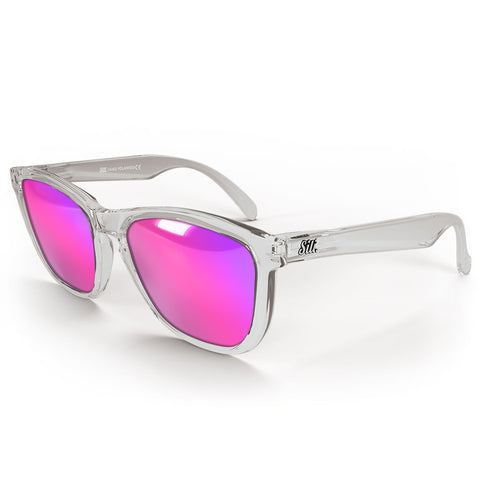 Pre-Picked - Transparent With Pink Polarised Lenses
