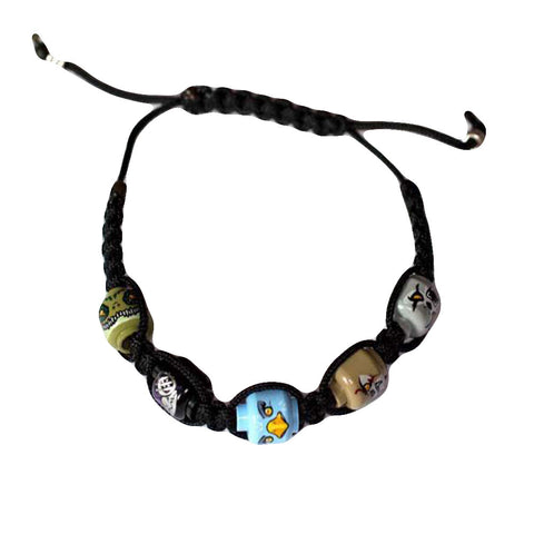 Lego Head Legends of Chima Shamballa Bracelet