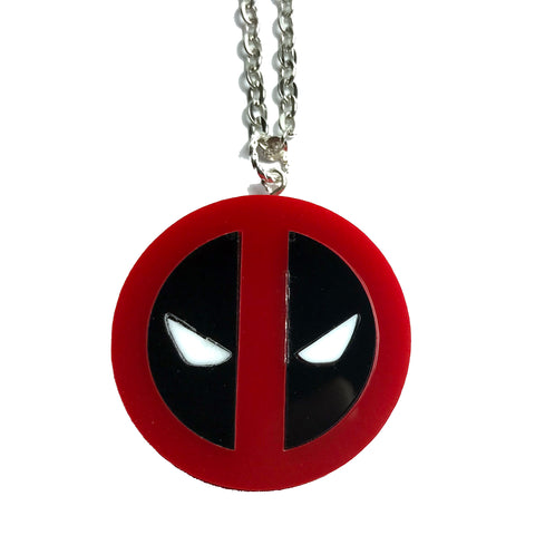 Deadpool Necklage (large)