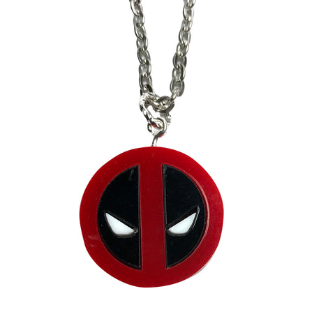 Deadpool Necklace (small)