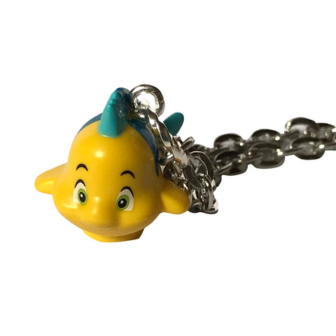 Flounder Necklace made using up-cycled LEGO® pieces