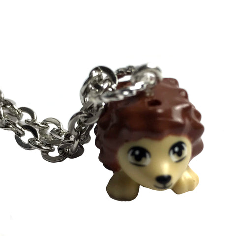 Lego Hedgehog Necklace