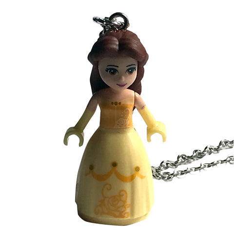 Belle Necklace made using up-cycled LEGO® pieces