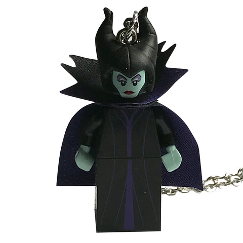 Malificent Necklace made using up-cycled LEGO® pieces