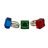 Ring - made using up-cycled LEGO® pieces