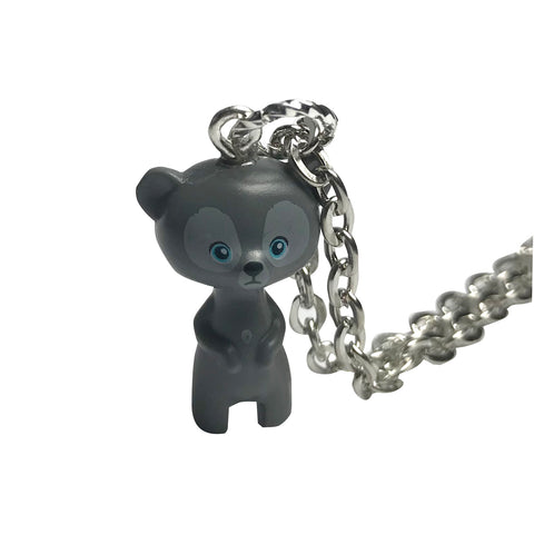 Lego Grey Bear Necklace