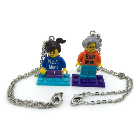 Custom Mini-Fig Necklace