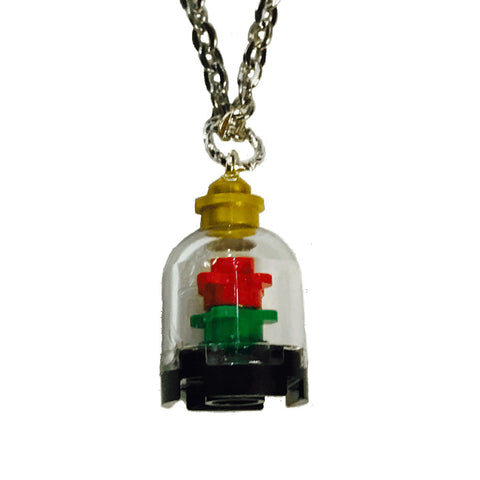 Lego Enchanted Rose Necklace