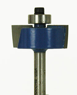 "Rabbeting Bit WL-1220 3/8"" Depth, 1/2"" Kerf, 1-1/4"" Dia, 1/4"" Shank Woodline USA"