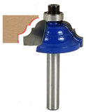 "Double Roman Ogee Router Bit WL-1240 5/32"" Radius; 1-1/8"" Dia; 1/2"" Cut Length; 1/4"" Shank Woodline USA"