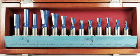 WL-2014 13 PC DOVETAIL JOINERY SET Woodline USA