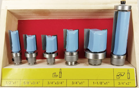 WL-2032  6pc Pattern Router Bit Set