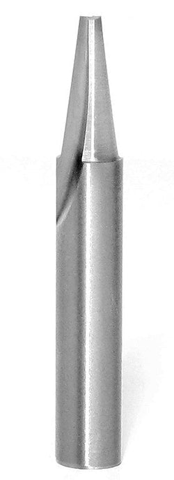"45780 7.5° Solid Carbide Engraving Bit, 3/16"" Dia; 1/2"" Cut Length, 1/4"" Shank Amana"