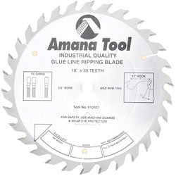 "10"" GLUE LINE RIPPING SAW BLADES"