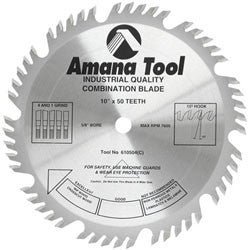 "10"" COMBINATION SAW BLADES"